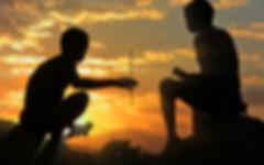 TV - Produktion - Hoansi-San in der Kalahari Wüste
