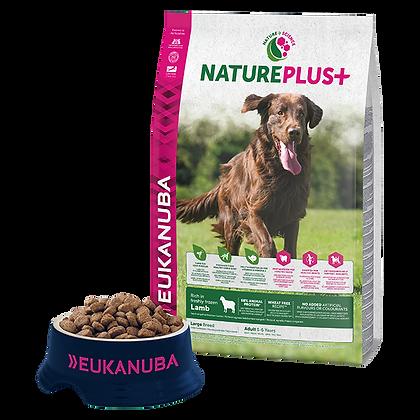Eukanuba Natureplus+-Felnőtt nagytestű kutyáknak fagyasztott bárányban gazdag