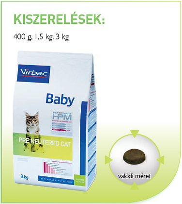 Virbac Pre Neutered Cat-Baby