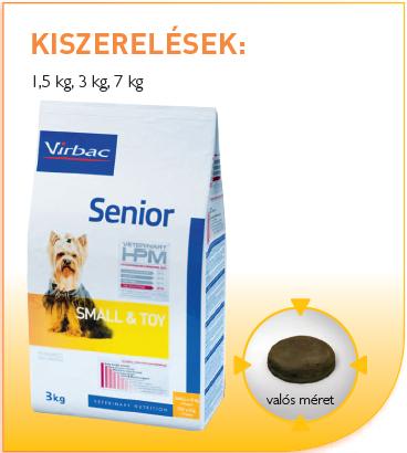 Virbac Small & Toy Dog-Senior