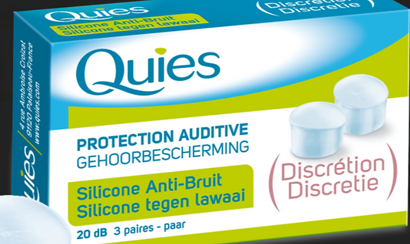 Quies Silicone Noise Protection Earplugs