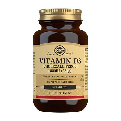 Solgar Vitamin D3 1000iu (90 Tablets)