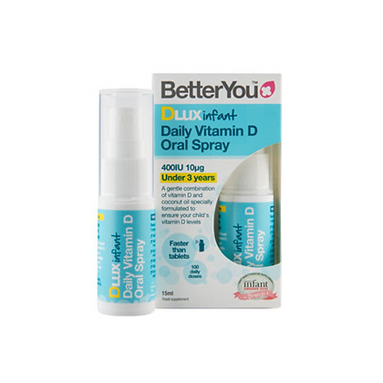BetterYou DLux Infant - Vitamin D Oral Spray 15ml