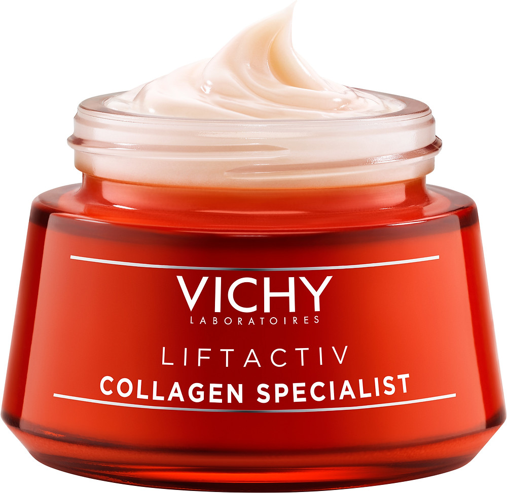 Vichy Liftactiv Collagen Specialist Day Cream. Collagen boosting day cream for anti-ageing