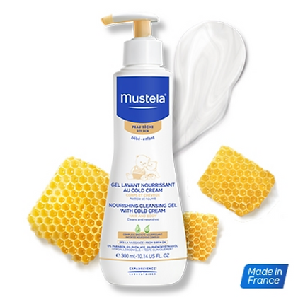 Mustela Cleansing Gel with Cold Cream
