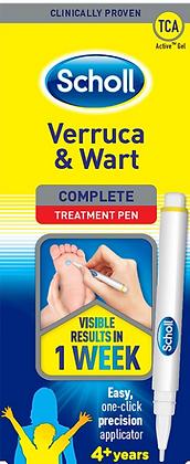 Scholl Verruca & Wart Complete Treatment Pen