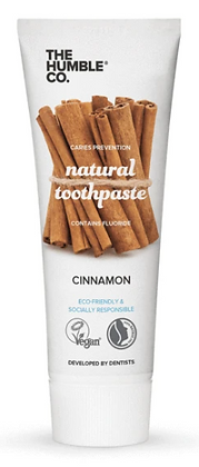 The Humble Co Natural Toothpaste Cinnamon