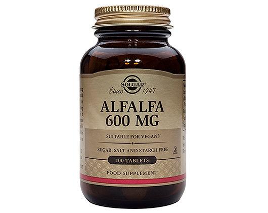 Solgar Alfalfa 600mg tablets (100)