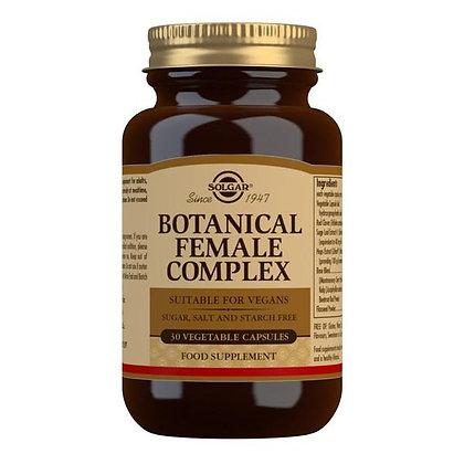Solgar Botanical Female Complex 30 Vegatable Capsules