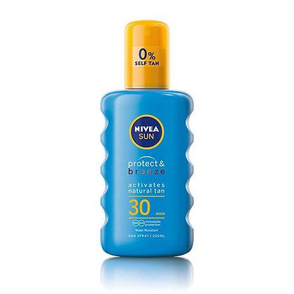 Nivea Sun Protect & Bronze Spray SPF30