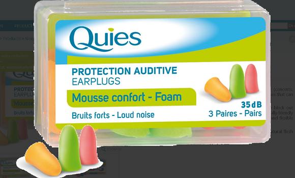 Quies Foam Earplugs
