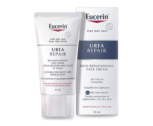 Eucerin UreaRepair Rich Replenishing Face Night Cream 50ml