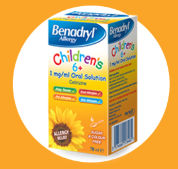 Benadryl Allergy Children's 6+