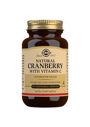 Solgar Natural Cranberry with Vitamin C