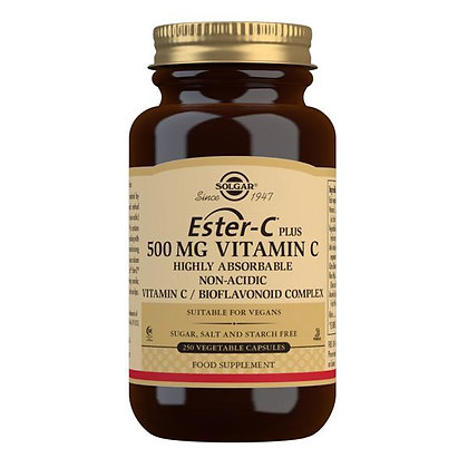 Solgar Ester-C 500mg Vitamin C 250 Vegetable Capsules
