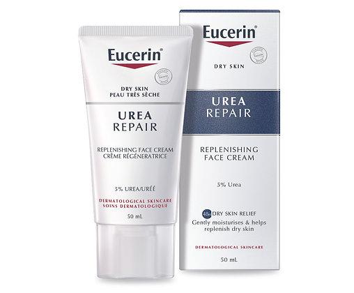 Eucerin UreaRepair Replenishing Face Cream 5% Urea 50ml
