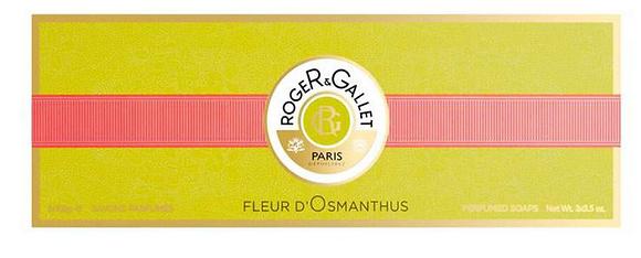 Roger & Gallet Fleur D'Osmanthus Soap Gift Set