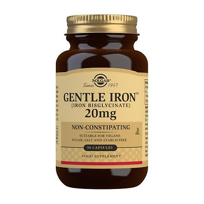 Solgar Gentle Iron 20mg (90 Capsules)
