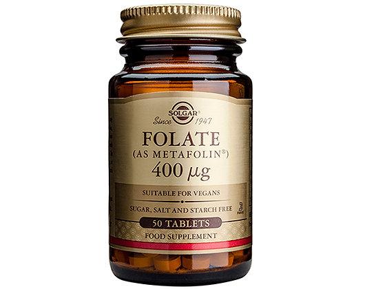 Solgar Folate 400 μg (as Metafolin®)