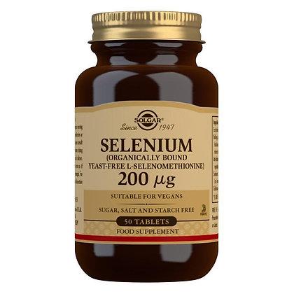 Solgar Selenium 200mcg Tablet (50)