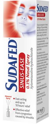 Sudafed Sinus-Ease 0.1% Nasal Spray