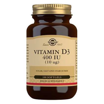 Solgar Vitamin D3 400iu softgels