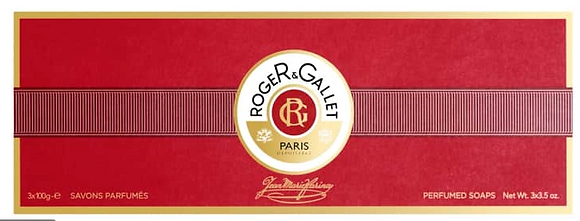 Roger & Gallet Jean Marie Farina Soap Gift Set ( 3*100g)