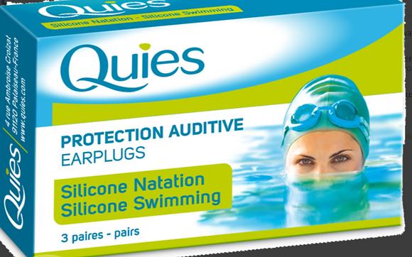 Quies Silicone Swimming Earplugs