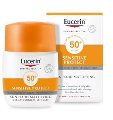 Eucerin Sensitive Protect Sun Fluid Mattifying SPF50+