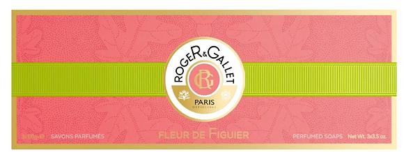 Roger & Gallet Fleur de Figuier Soap Gift Set ( 3*100g)