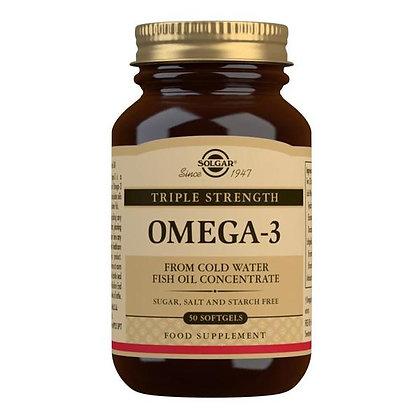Solgar Triple Strength Omega-3 Softgels