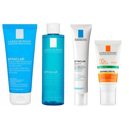 La Roche Posay Acne Regimen Bundle with Sun Protection