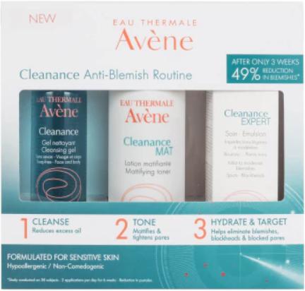 Avene Cleanance Anti-blemish Rountine Kit