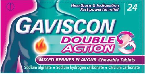 Gaviscon Double Action Tabs