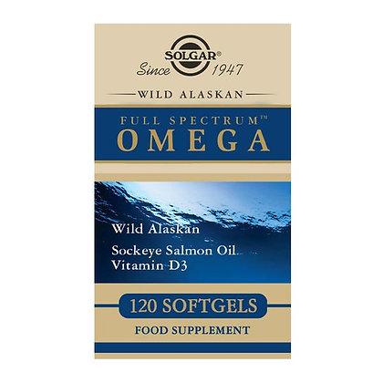 Solgar Wild Alaskan Full Spectrum Omega (120 softgels)