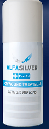 Alfasilver Spray First Aid for Wound Treatment