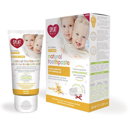 Splat toothpaste for babies 0-3 years