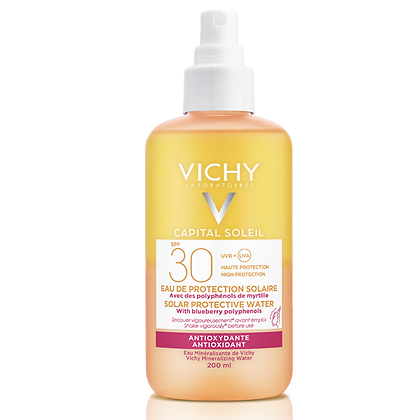 Vichy Soleil Solar Protective Water SPF 30 Antioxidant