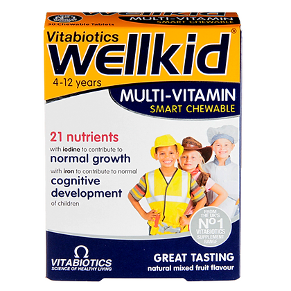 Vitabiotics Wellkid Multi-Vitamin Chewables