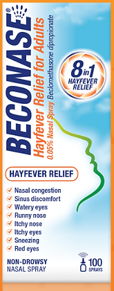 Beconase Hayfever Relief for Adults (100)