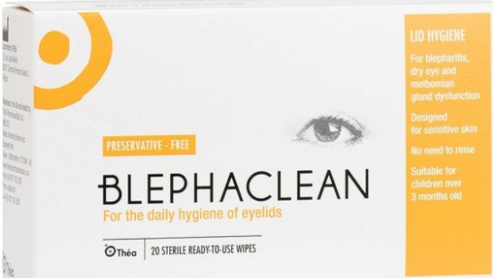 Blephaclean Lid Hygiene Wipes