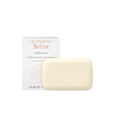 Avène Cold Cream Ultra Rich Soap-Free Cleansing Bar 100g
