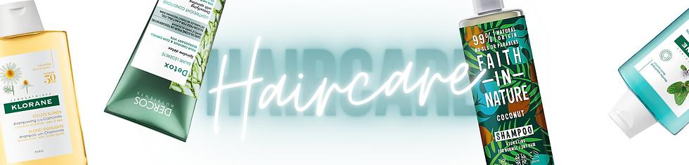 Haircare Banner