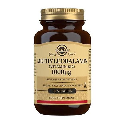 Solgar Methylcobalamin (Vitamin B12) 1000 mcg (30 nuggets)