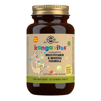 Solgar Kangavites Multivitamin & Mineral Formula for Children (60 Tablets)