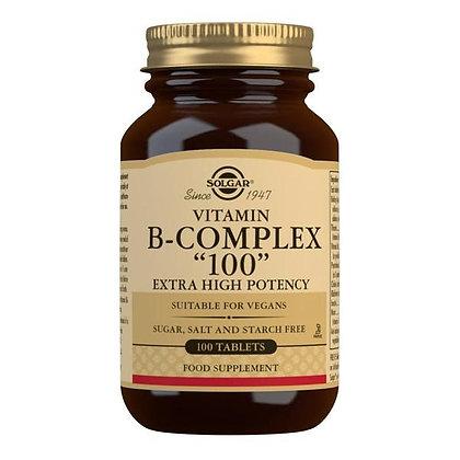 """Solgar Vitamin B-Complex """"100"""" (50 Capsules)"""
