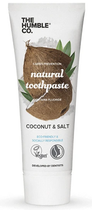 The Humble Co Natural Toothpaste Coconut & Salt
