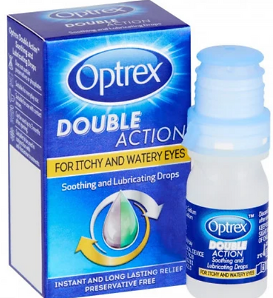Optrex Double Action for Itchy and Watery Eyes