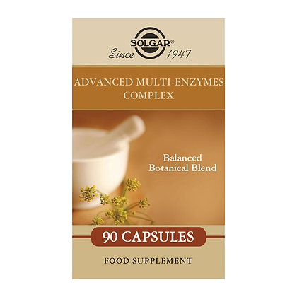Solgar Advanced Multi-Enzymes Complex Capsules (90)