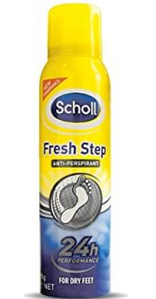 Scholl Fresh Step Antiperspirant Spray